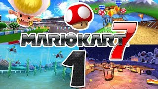 Let's Play Mario Kart 7 Part 1: Pilz Cup 150ccm