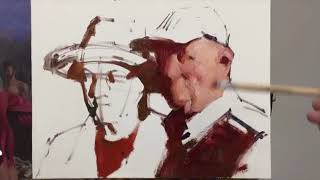 Zimou Tan | Art | How to paint a two-figure portrait painting.