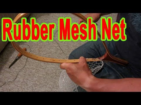Replacement Of The Rubber Mesh Landing Net