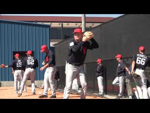 10117025dbf273 2017 Tigers Spring Training - Daniel Stumpf throws a bullpen session -  YouTube