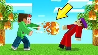 Playing MINECRAFT As A FIRE BENDER! (Avatar)
