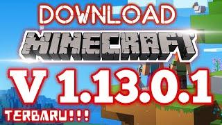 Gambar cover Cara Download Minecraft Terbaru Versi 1.13.0.1 | Link Download Lengkap !!!