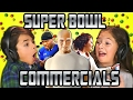KIDS REACT TO SUPER BOWL COMMERCIALS 201