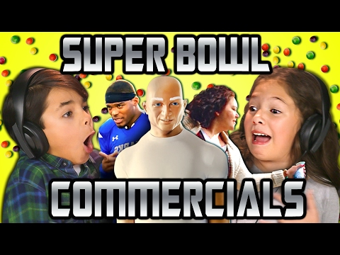 KIDS REACT TO SUPER BOWL COMMERCIALS 2017