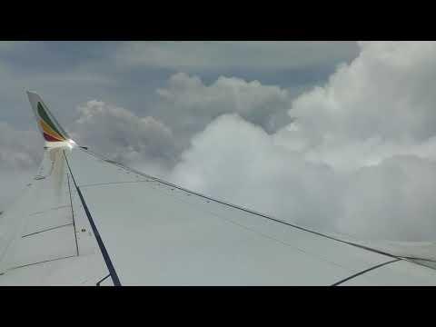 Sky Tour 03 - Bole International Airport (Ethiopia) to Entebbe International  2 of 3