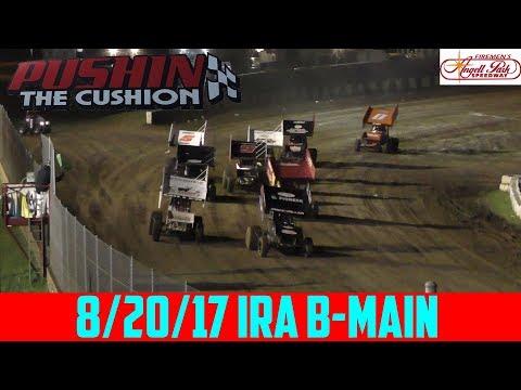Angell Park Speedway - 8/20/17 - IRA Sprints - B-Main