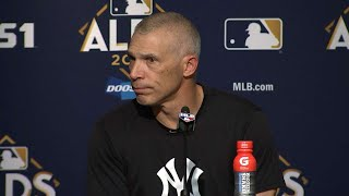 CLE@NYY Gm4: Girardi discusses evening the series
