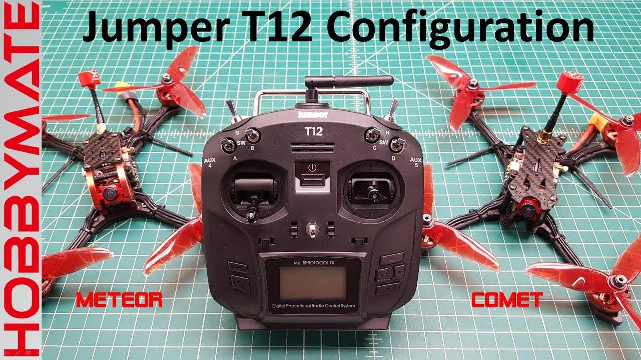 Jumper T12 Configuration: Initial Setup for Race Drones
