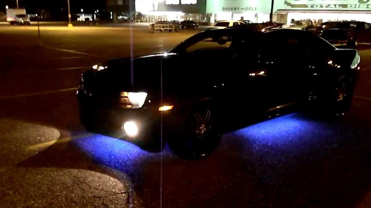 2010 Camaro Underglow At Night Youtube