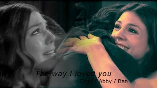 Chad / Abby / Ben // The way I loved you