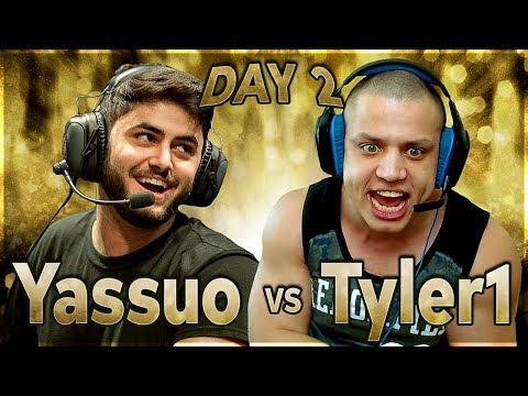 YASSUO VS TYLER1 - THE $10K BET: DAY 2