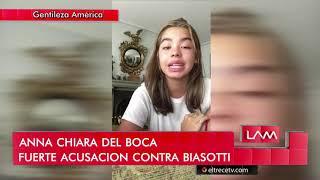 Anna Chiara del Boca hizo una fuerte acusación contra Ricardo Biasotti
