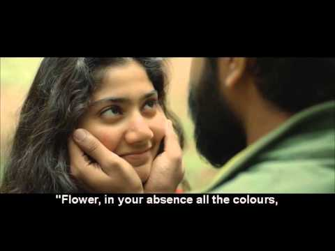 Malarae ninnae HD song  premam movie with eng subtitle1