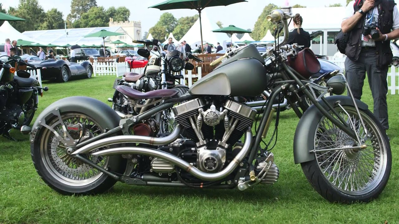 Warr's Kings Road Custom for Harley Davidson - YouTube