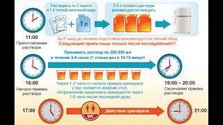 Колоноскопия подготовка,  препараты для очищения кишечника