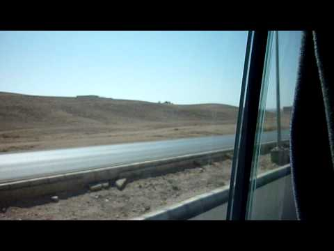 Jordan, Amman to Wadi Musa (Petra) by public transport minibus; feel the spirit...