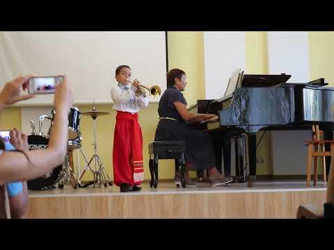 Козачок. Концерт Дани в Музыкальной Школе 2019.09.12