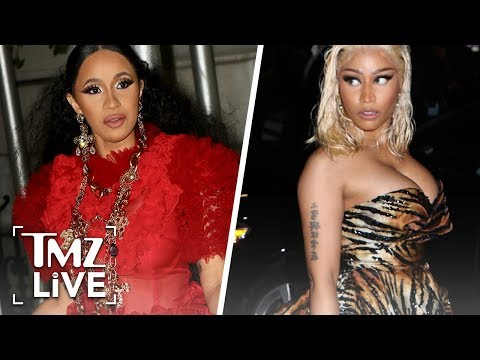 Cardi B & Nicki Minaj Altercation | TMZ Live