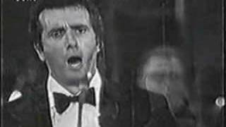 Franco Corelli sings O Paradiso   live video 1970