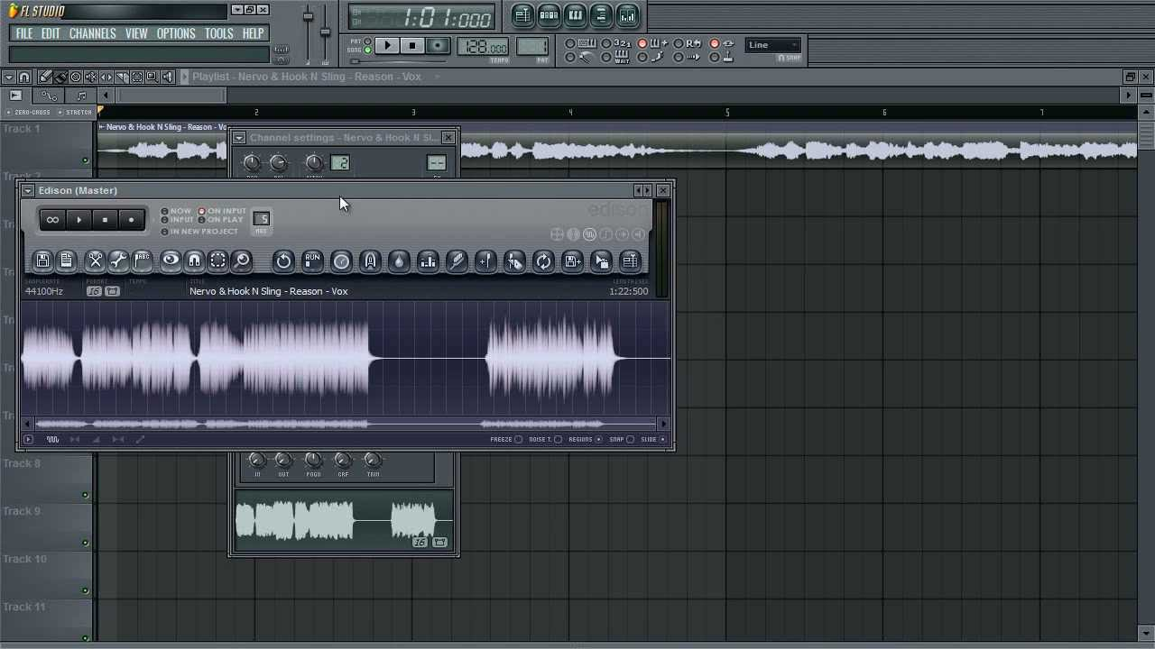 how to make a simple reverse effect in a vocal fl studio youtube. Black Bedroom Furniture Sets. Home Design Ideas