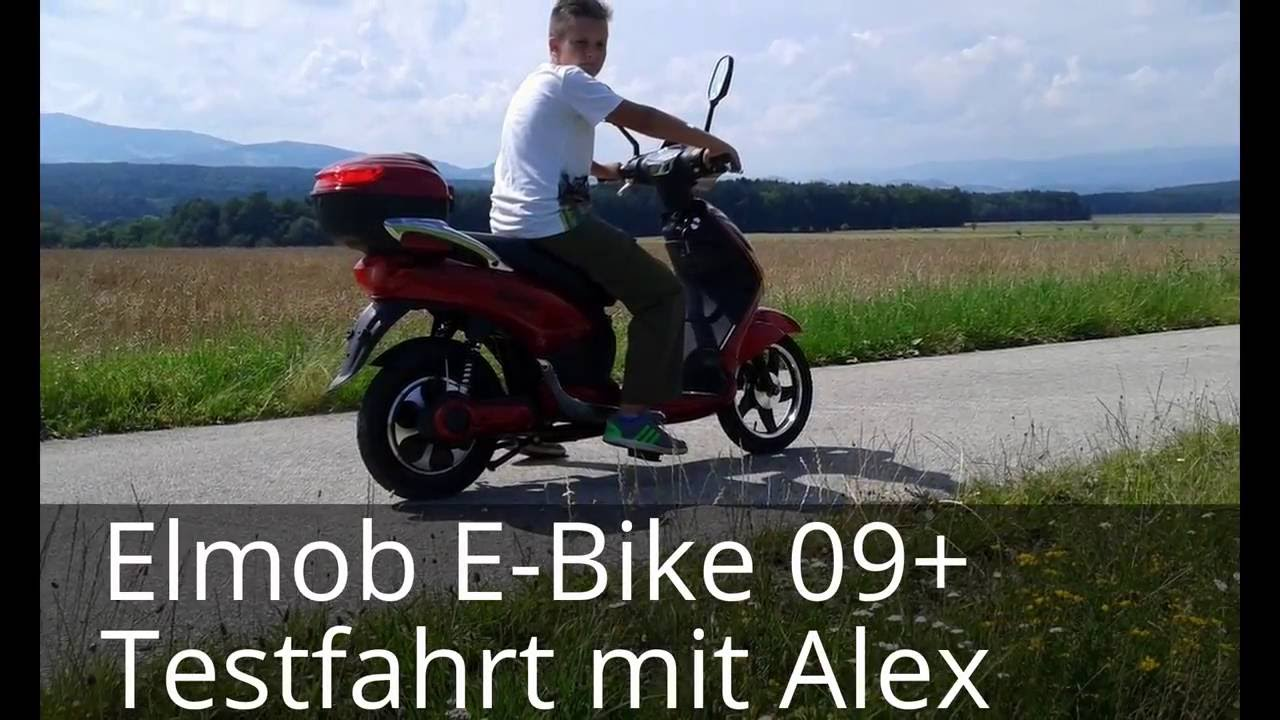 elmob e bike elektrofahrrad speed 25 km h bis 60 km reichweite youtube. Black Bedroom Furniture Sets. Home Design Ideas
