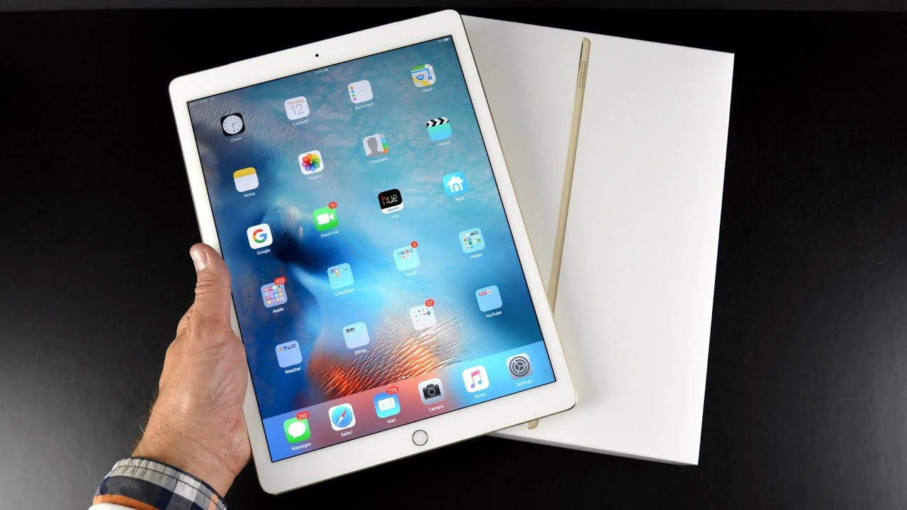 Apple iPad Pro: Unboxing & Review (All Colors) - YouTube