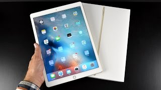 Apple iPad Pro: Unboxing & Overview