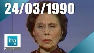 19/20 FR3 du 24 mars 1990 - Alice Sapritch est morte | Archive INA