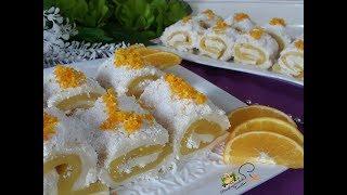 Bu Kışın Favorisi Portakallı Saray Sarması l Mutfağımdan Tadlar l Nefis Tarifler