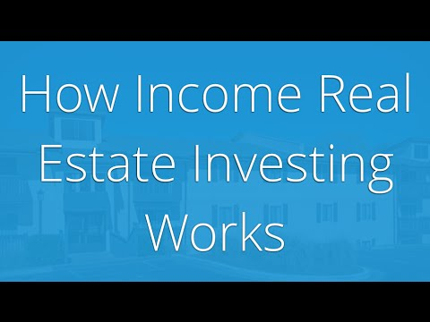 How income real estate investing works (Sikes Capital)