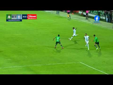 Santos Laguna 0 - [1] Pachuca - Victor Guzman 36'