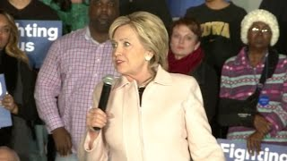 Eye Opener: Clinton's