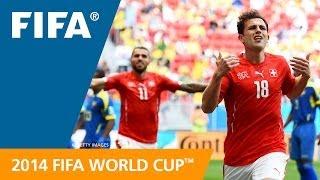FWC 2014 - Switzerland v Ecuador - International Sign Highlights