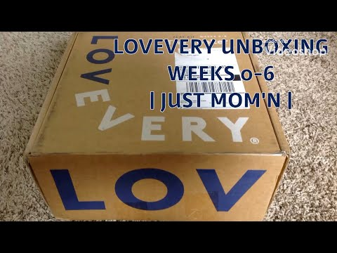 LOVEVERY UNBOXING - WEEKS 0-6