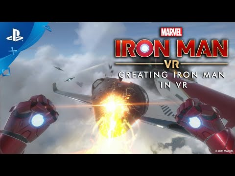 Marvel's Iron Man VR – Creating Iron Man in VR (Behind the Scenes)   PS VR