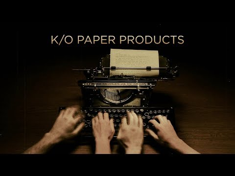 K/O Paper Products/101st Street Television/CBS Television Studios (2012)