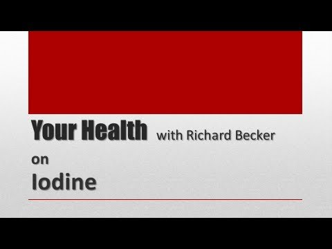 Iodine - An Essential Nutrient