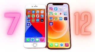 iPhone 7 vs iPhone 12 Speed Test!