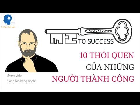 10 thói quen của người thành công | Bài học thành công | Truyền cảm hứng | Tri thức nhân loại