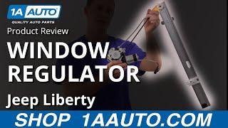 1AWRG01582 Jeep Liberty Power Window Regulator Driver Side Rear Door