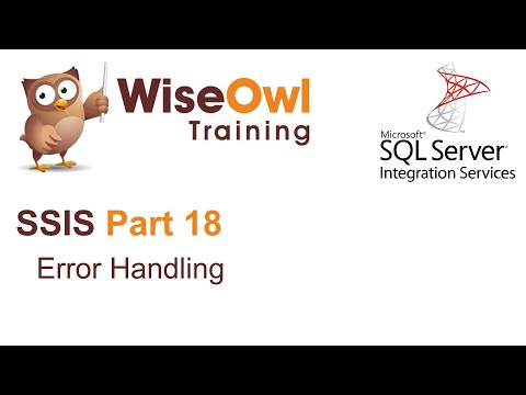 SQL Server Integration Services (SSIS) Part 18 - Error handling