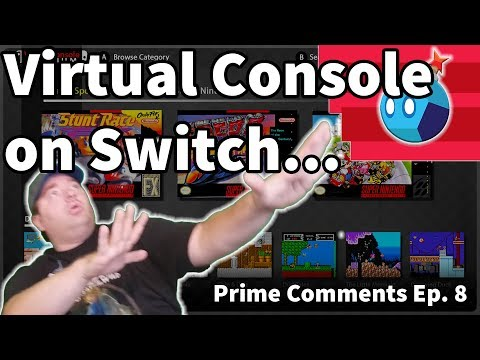 Virtual Console on Nintendo Switch | Prime Comments Ep. 8