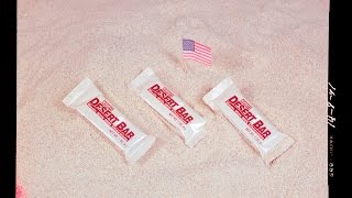 1990 Hershey's Desert Bar Rare Discontinued MRE Candy Tropical Chocolate Bar Ration Review