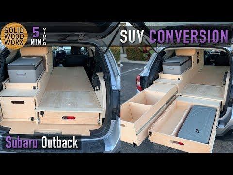 Subaru Outback Build Out!