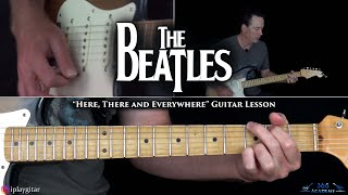 The Beatles - Here, There and Everywhere Guitar Lesson