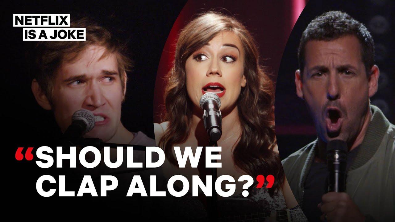 11 Minutes Of Musical Comedy With Adam Sandler, Bo Burnham & Miranda Sings