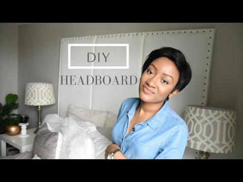 DIY| SUPER EASY HEADBOARD TUTORIAL