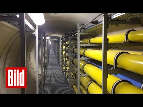 Pipeline kostet 12 Millionen Euro - 30 Meter unter dem Rhein