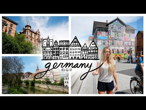 TÜBINGEN GERMANY IS A DREAM!!