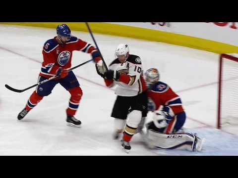 Perry avoids goaltender interference, Ducks are on the board